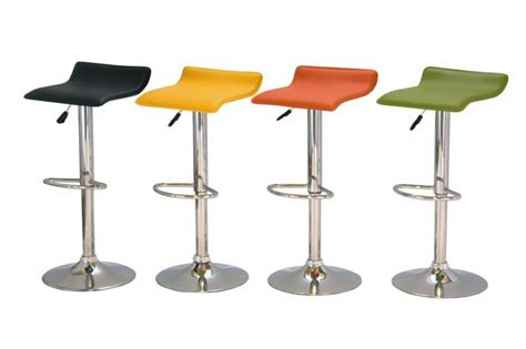 Bar And Kitchen Stools by Black Green Orange Yellow Kitchen Bar Stools Homegenies