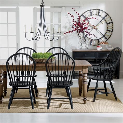 ethan allen country dining table and chairs alluring black country dining table with best ethan allen