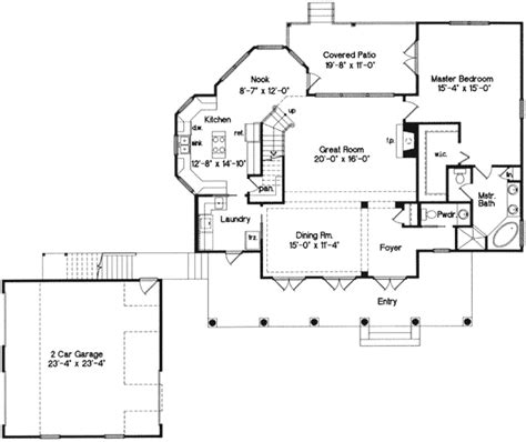 house plans with drive through garage drive through garage 6330hd architectural designs house plans