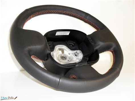 volante fiat panda copri volante per fiat panda 319 pelle nera rivestimenti