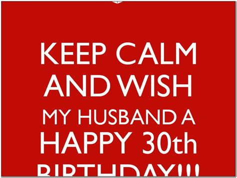 Happy 30th Birthday Wishes For Husband Happy 30th Birthday Quotes For Husband Pictures Reference