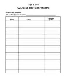 childcare sign in sheet template best photos of numbered sign in sheet printable blank