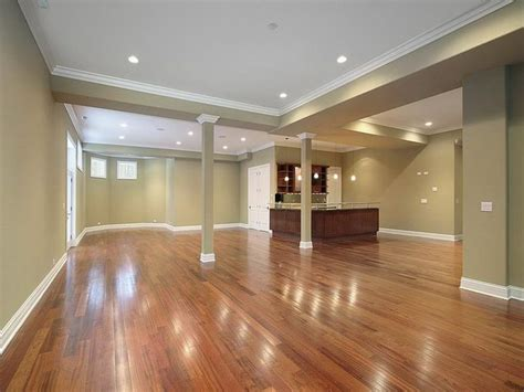 Finished Basement Ideas On A Budget Wood Floor Ideas Finished Basement Ideas