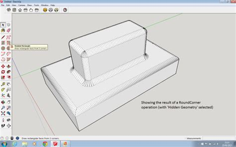 sketchup layout rounded rectangle shapeways blog sketchup tips from steven gray part 3