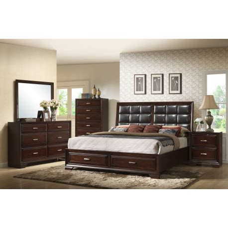 4pc bedroom set jacob 4pc bedroom set by crown mark