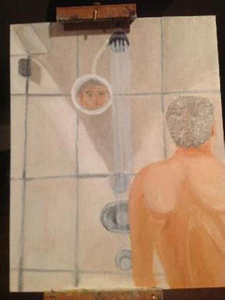 george w bush bathtub painting george w bush s naked self portraits and paintings of cats
