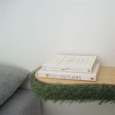 floating shelf side table grass floating shelf homeware furniture and gifts mocha