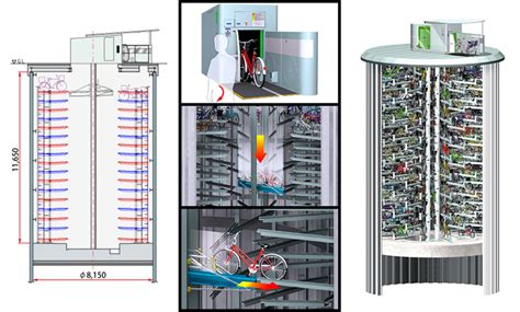 biaya membuat na video japan s amazing underground bike parking towers
