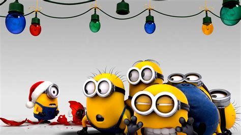 minions christmas wallpaper 253720