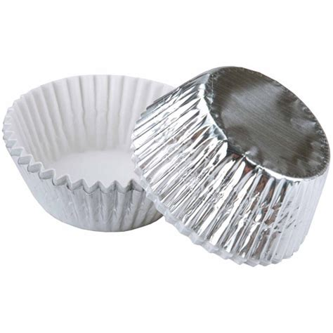 Wilton Silly Baking Cup It Or It by Wilton Standard Silver Foil Baking Cup Kitchen Dining