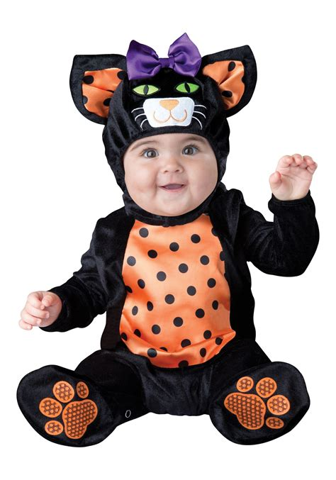 halloween costumes infant toddler mini meow cat costume