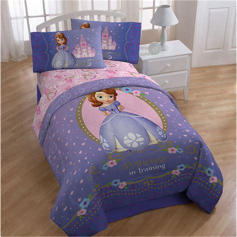 disney bed sheets kids comforter sets with disney sofia first princess motif
