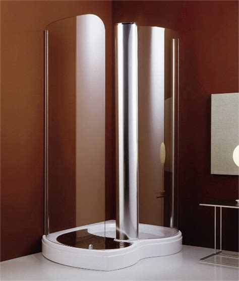 spiral shower stalls for small bathroom designs glass