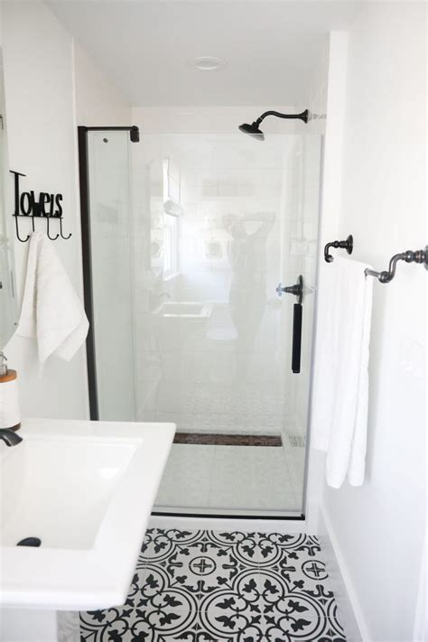 black white bathroom tile knowledgebase black and white bathroom i heart nap time