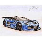 Gumpert Apollo S By Vsales Traditional Art Drawings Technical