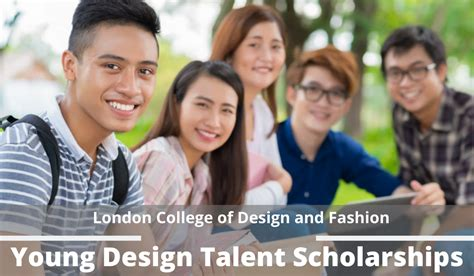 young design talent scholarships  london college