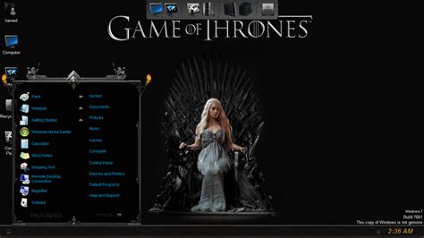 themes windows games game of thrones skinpack skinpack customize your