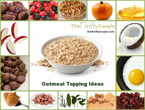 88 ideas for oatmeal toppings and mix ins with free