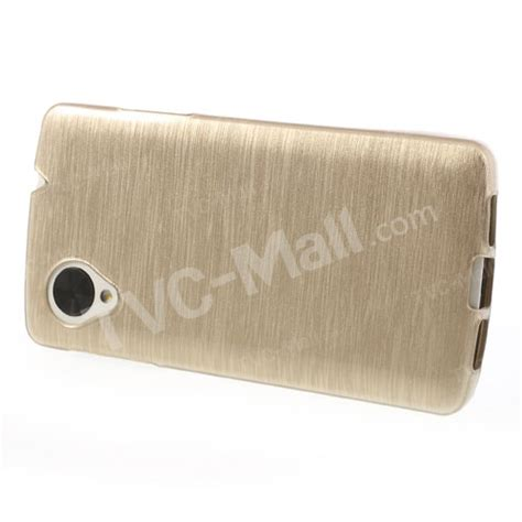 Jelly Lg Nexus 5 gold brushed jelly tpu cover for lg nexus 5 e980