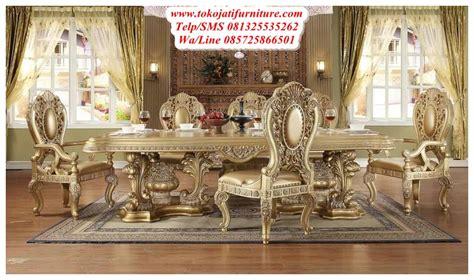 Meja Makan Ukiran set meja makan duco ukiran modern www tokojatifurniture