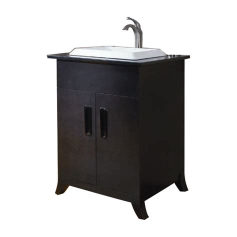 Lowes Bathroom Vanity And Sink Shop Allen Roth Single Sink Bathroom Vanity With Top Common 24 In X 21 In Actual 24 In X