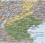 Cartina Geografica Del Veneto  Stradario Mappa