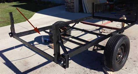 paint boat trailer with rustoleum how to restore an old trailer with diy pete