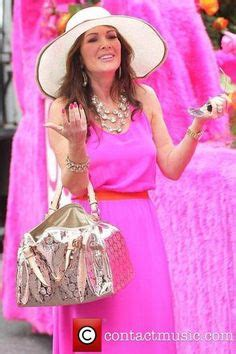 lisa vanderpump pink hair lisa vanderpump shows off her new housewares collection