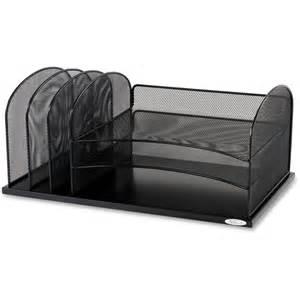 Safco Desk Organizers Safco 3254bl Safco Horizontal Mesh Desk Organizer Saf3254bl Saf 3254bl Office Supply Hut