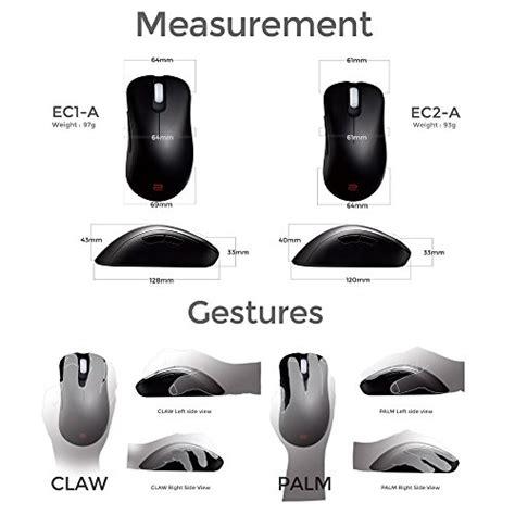 Zowie Benq Ec2 A 1 benq zowie ec2 a e sports ergonomic optical gaming mouse import it all