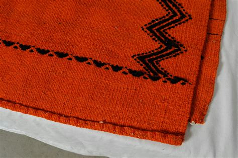 Southwestern Area Rugs For Sale Southwestern Knotted Woven Orange Wool Blend Area Rug Tapestry
