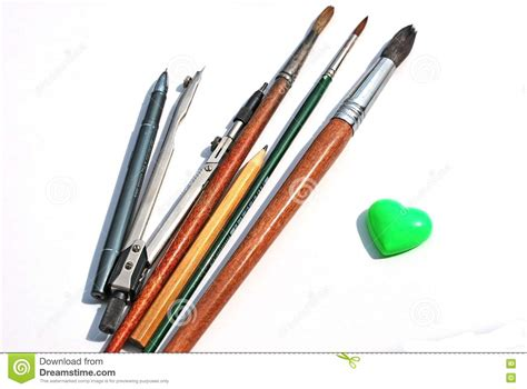 Drawing Utensils by Drawing Tools Royalty Free Stock Photo Image 14479965