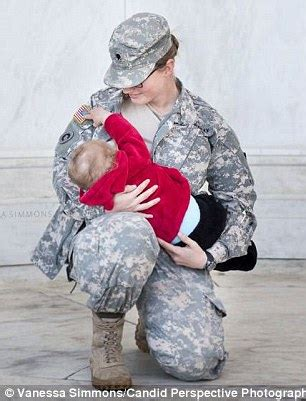 woman behind military breast feeding photo fired from job active duty military moms breastfeed in uniform at the
