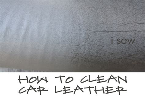 How Do U Clean Leather by I Sew Do You How To Clean Car Leather