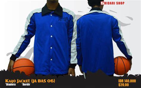 Kaos Shutoku Kuroko No Basket Ka Bas 06 animanga clothing pre order jaket kuroko no basket
