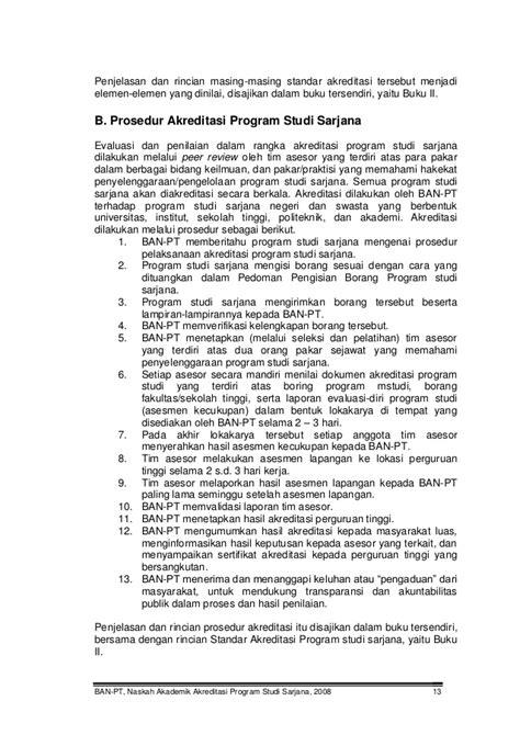 Buku Sarjana Universitas Syaitan buku 1 naskah akademik akreditasi program studi sarjana