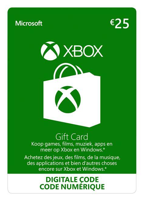 xbox gift card  euro  formato digitale