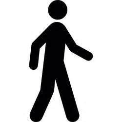 pedestrian walking free sports icons