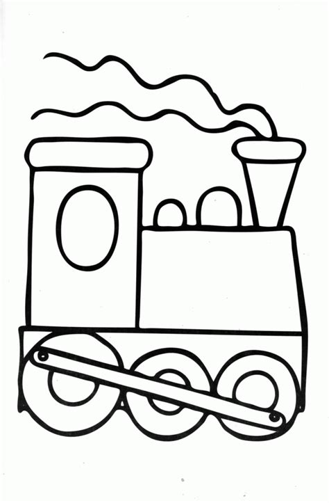 pictures of cartoon trains coloring home