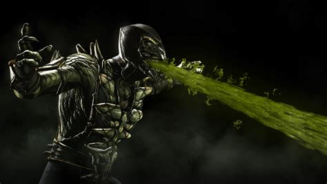 mortal kombat x wallpaper hd android reptile mortal kombat x wallpapers hd wallpapers id 17970