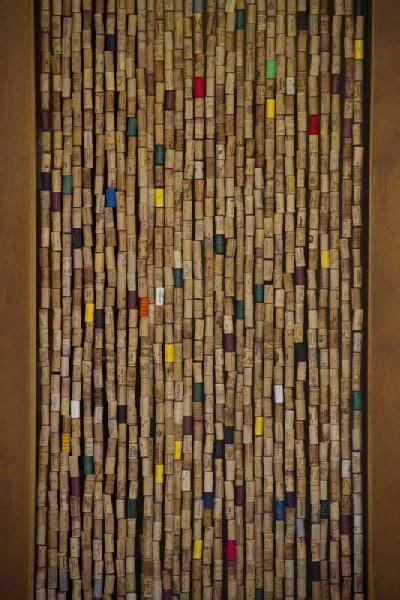 cork curtain     corks wine cork crafts