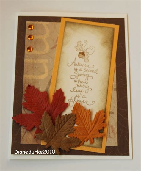 Thanksgiving Cards Handmade - 1000 images about cards fall on handmade fall
