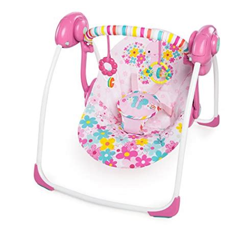 bright starts pretty in pink swing the first years learning curve first keys teether baby