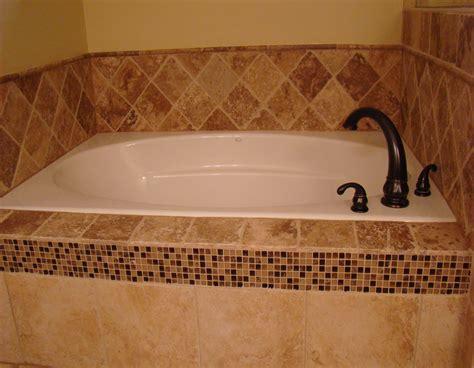 custom tile bathtub travertine jacuzzi tub installation travertine installers