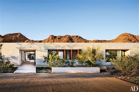 home design show architectural digest 12 dazzling desert home exteriors photos architectural