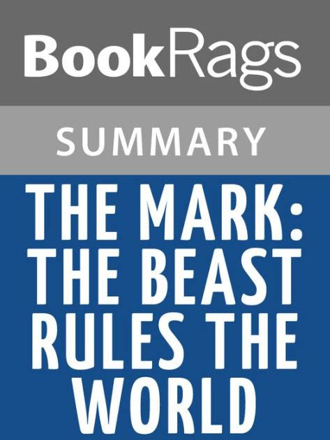 libro the mark the beast the mark the beast rules the world by tim lahaye l summary study guide by bookrags nook