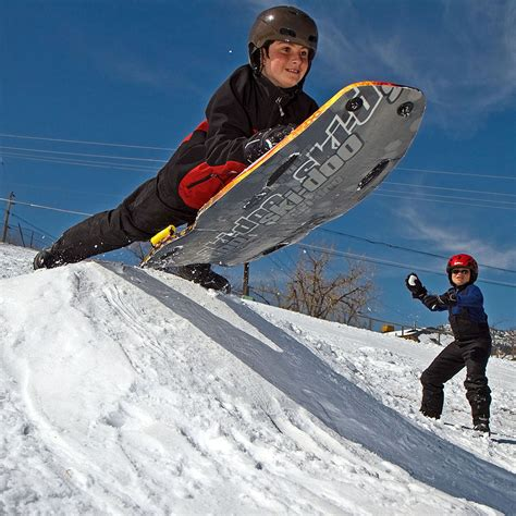 sledding colorado colorado sled snow sledding