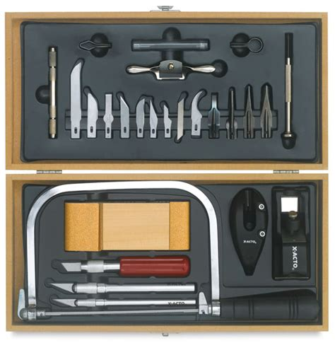 hobby woodworking tools x acto deluxe hobby tool set blick materials