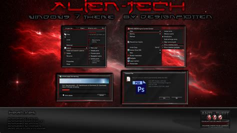 technology themes for windows 7 free download download alien technology theme windows 7 free free welltube