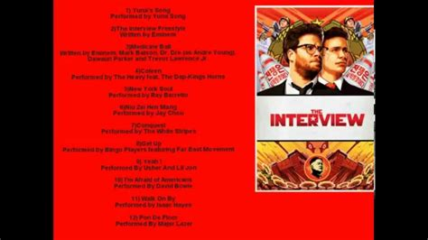 list film rame 2014 the interview official movie soundtrack list 2014 youtube